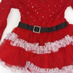 Youngland santa dress 2t